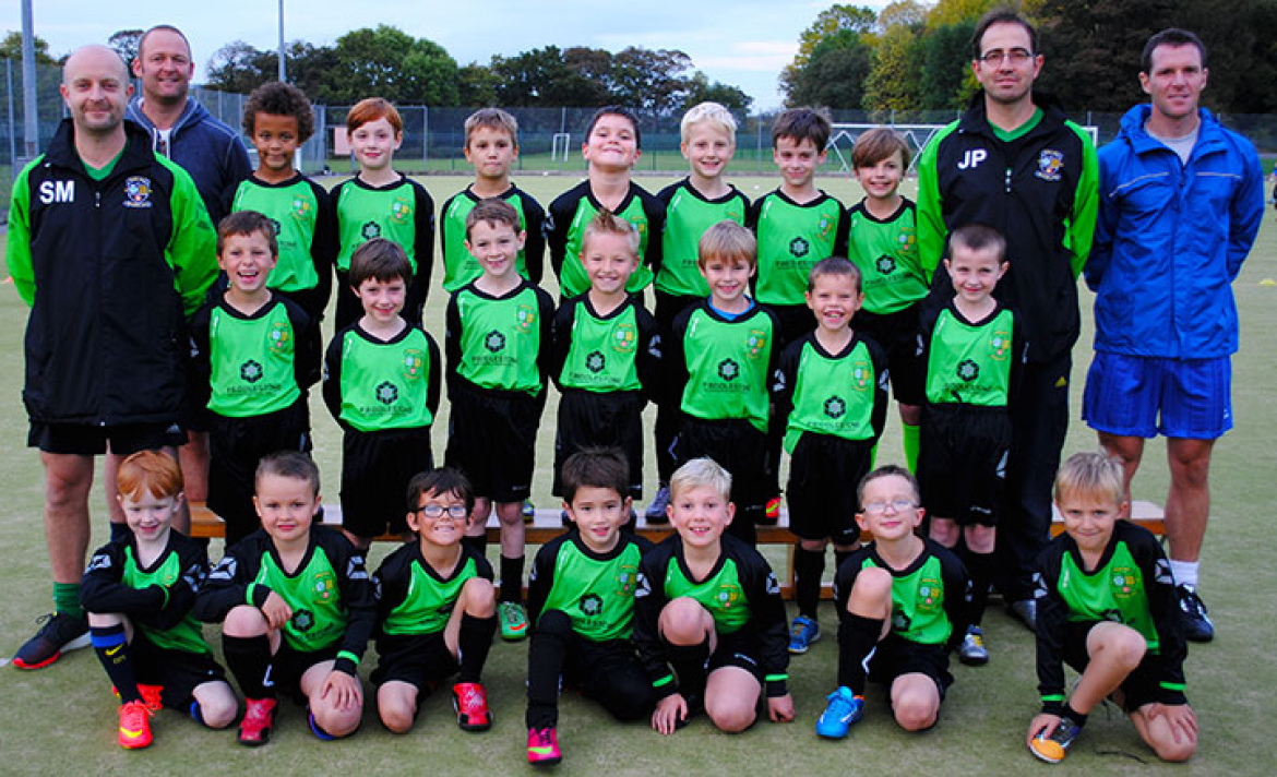 Rose Hill Rovers Under 8s football team